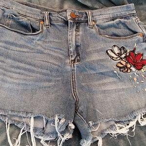 BlankNYC denim shorts cutoffs